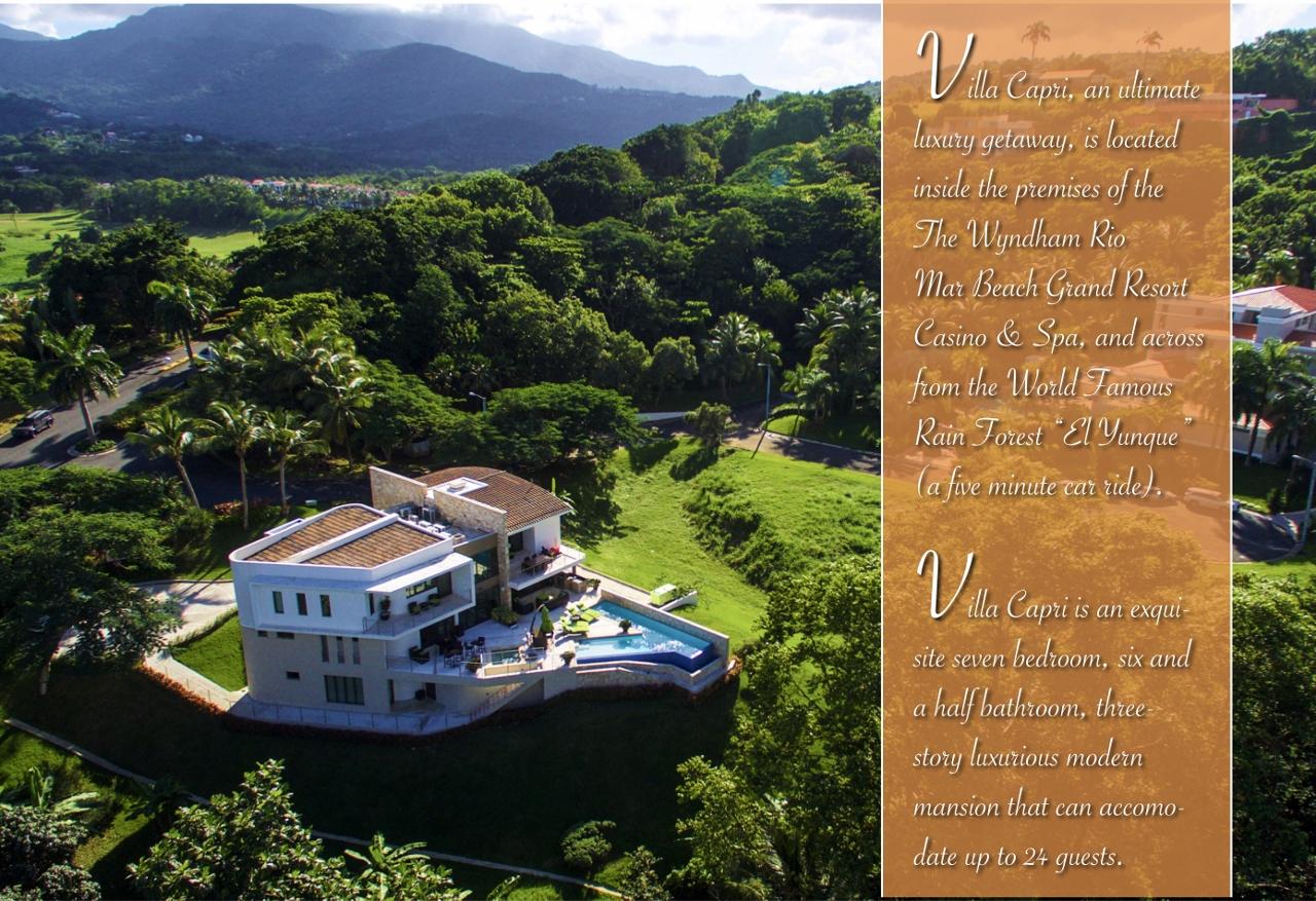Villa Capri An Ultimate Luxury Getaway Rio Mar Real
